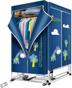 KASYDoFF Clothes Dryer Portable 1500W-1.7 Meters 3-Tier Foldable