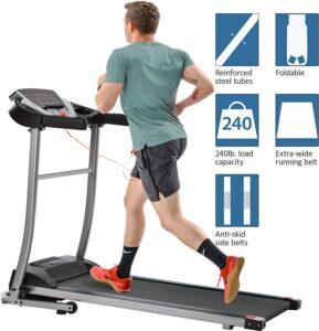 Merax LIRNHE 1.5HP Easy Assembly Foldable Treadmill
