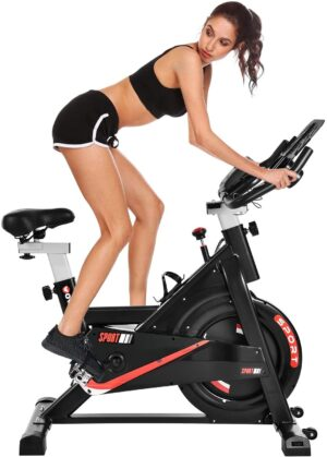 WOWSPEED Stationary Indoor Cycling Bike