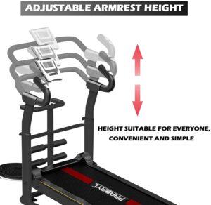 849 Treadmill F adjustable