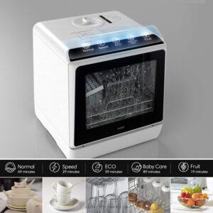 HAVA 5L Portable Countertop Dishwasher