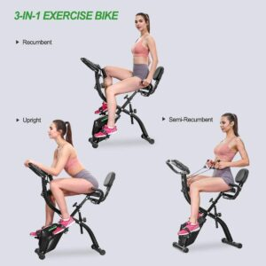 HOMGIM Folding Exercise Bike