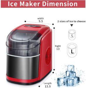 SWHOME Countertop Ice Maker