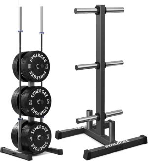 Synergee Olympic Weight Plate Tree Rack