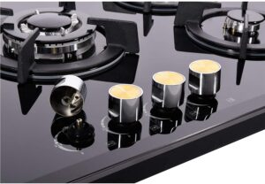 hotfield gas cooktop 5 burners