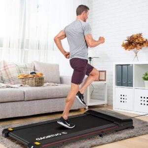 outroad 2-in-1 foldable treadmill